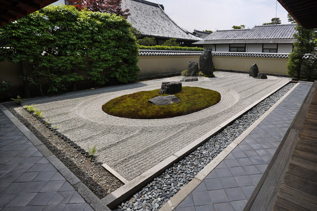大徳寺龍源院庭園の枯山水