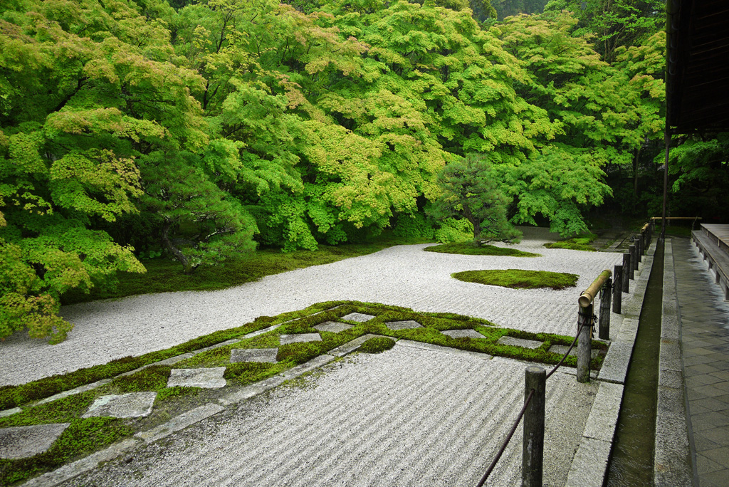 南禅寺 天授庵庭園の枯山水