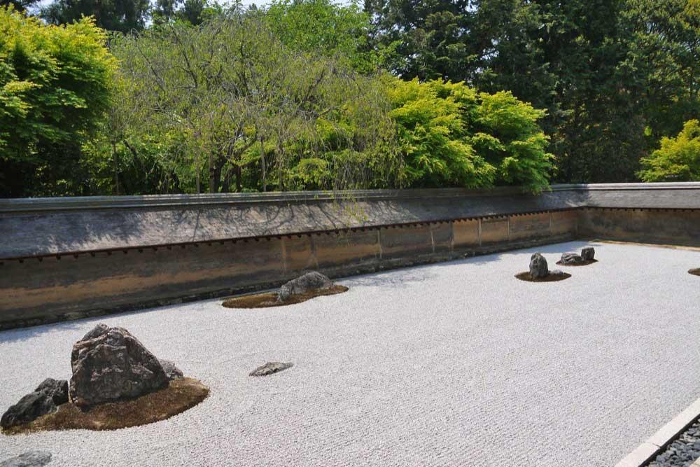 龍安寺方丈庭園の枯山水