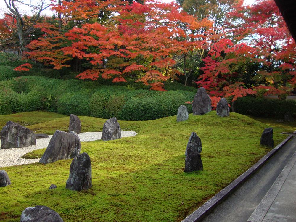 東福寺光明院庭園の枯山水