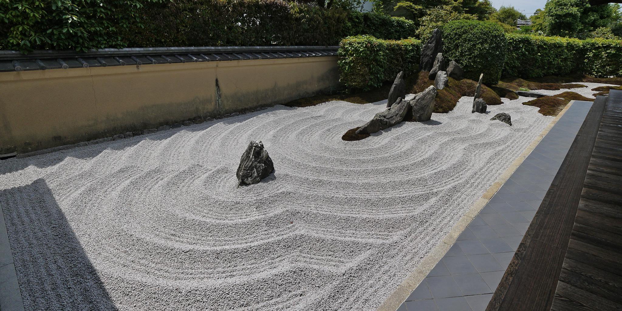 大徳寺瑞峯院庭園の枯山水