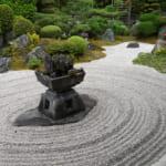東福寺霊雲院庭園の枯山水