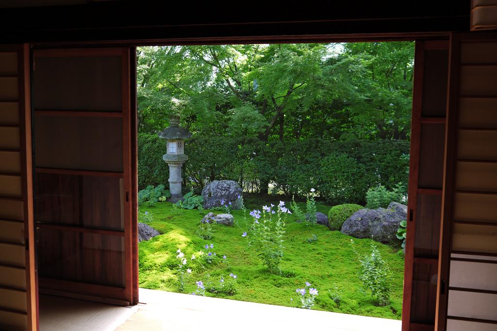 東福寺天得院庭園の枯山水