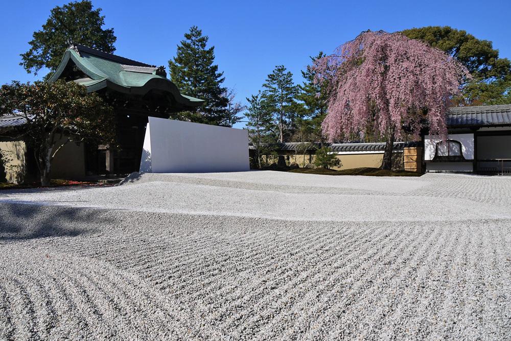 高台寺庭園の枯山水
