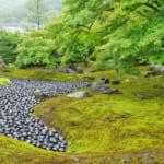 宝厳院庭園の枯山水