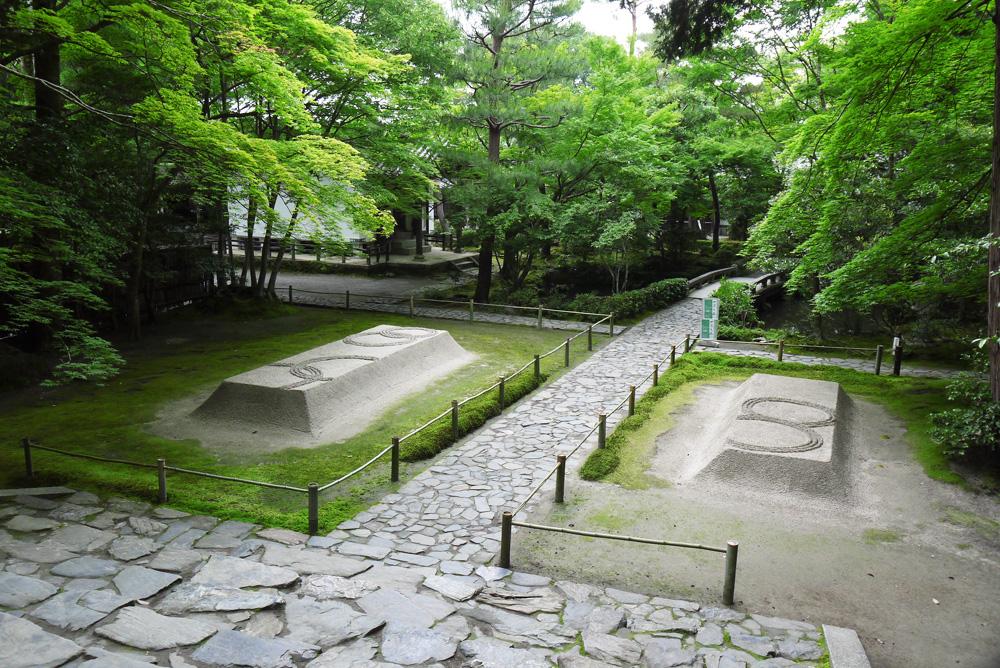 法然院庭園の枯山水