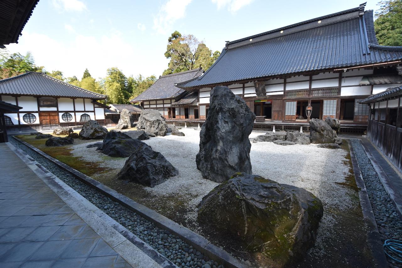 国泰寺庭園の月泉庭