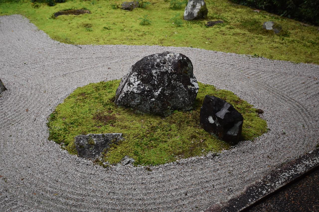 龍潭寺の枯山水10